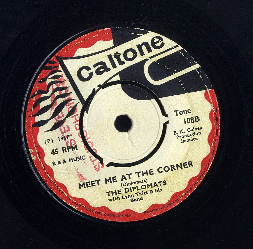 DIPLOMATS / LLOYD & THE GROOVERS [Meet Me At The Corner / Do It Me Baby]