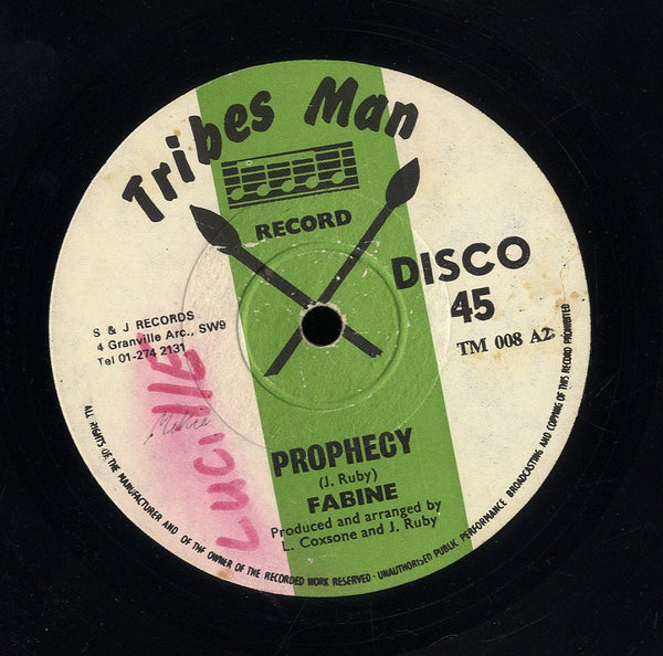 FABINE / JIMMY LINDSAY [Prophecy / Easy]