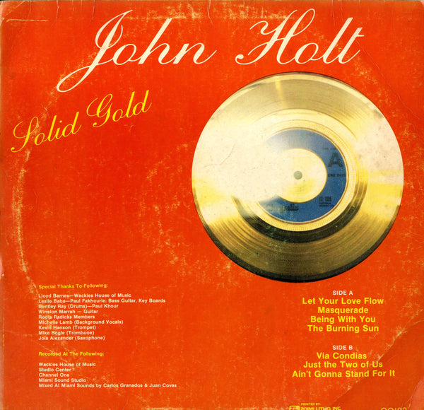JOHN HOLT [Solid Gold]