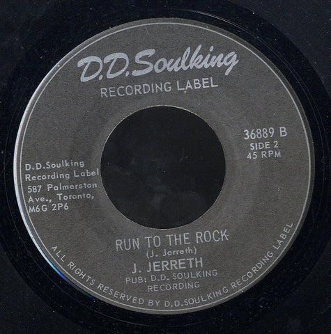 J JERRETH / ELTON ELLIS [Run To The Rock / Deliver Us]