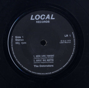 THE DETONATORS [Need Love Tonight.great Big Ghetto / Shoob Shoob Do. Give Me A Helping Hand.]