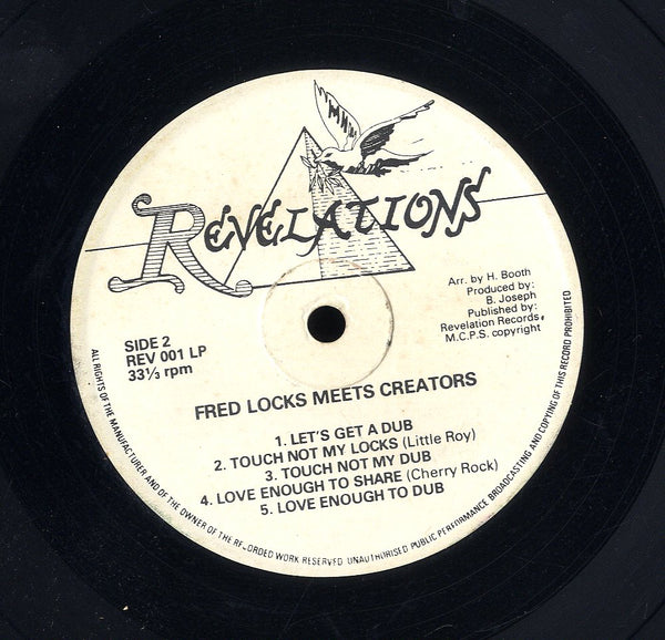 FRED LOCKS & THE STEPPERS [Nebuchadnezzar King Of Babylon (Fred Locks Meets Creators)]