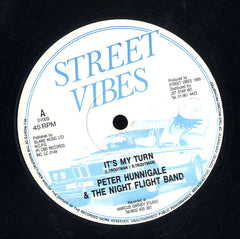 PETER HUNNIGALE & THE NIGHT FLIGHT BAND [It's My Turn]
