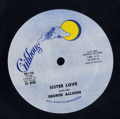 GEORGE ALLISON [Sister Love]