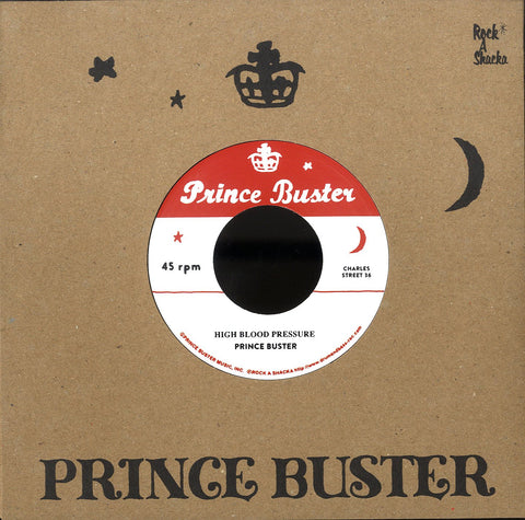 PRINCE BUSTER / DERRICK & PATSY [High Blood Pressure / Raindrops Falling (Unreleased)]