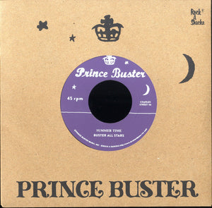 BUSTER ALL STARS (SILKSCREEN LABEL)  [Summer Time (Unreleased) / Hey Train (Unreleased)]