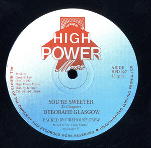 DEBORAHE GLASGOW [You're Sweeter]