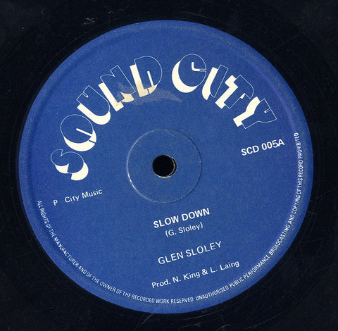 GLEN SLOLEY [Slow Down]