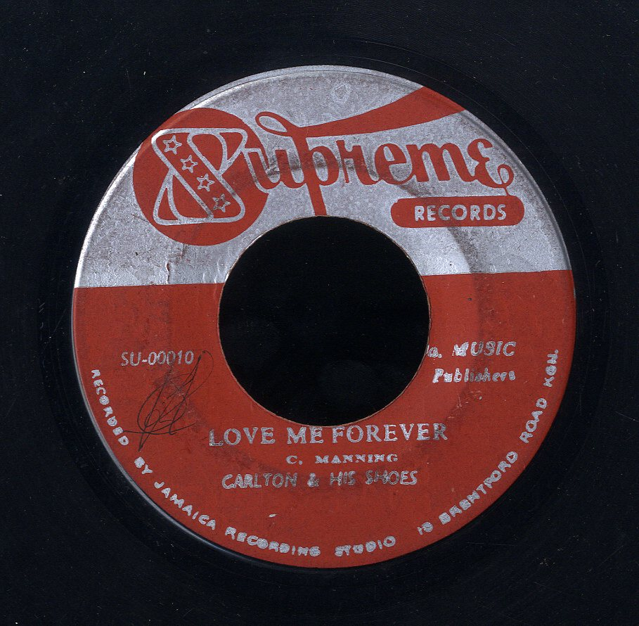 CARLTON & THE SHOES [Love Me Forever/ Happy Land ]