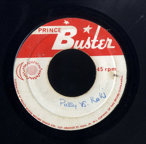 PRINCE BUSTER [Big Five / Man Or Boy]