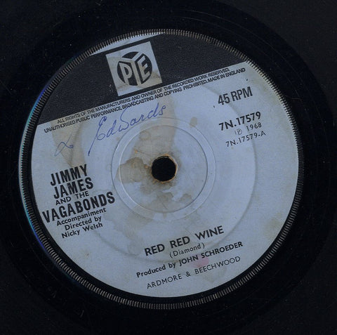 JIMMY JAMES & VAGABONDS [Red Red Wine / Who Could Be Loving You]