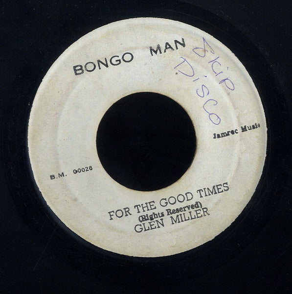 PRINCE JAZZBO / GLEN MILLER [Crime Don't Pay / For The Good Time]