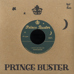 PRINCE BUSTER (SILKSCREEN LABEL)  [I Won't Let You Cry / I'm Sorry (Unreleased)]