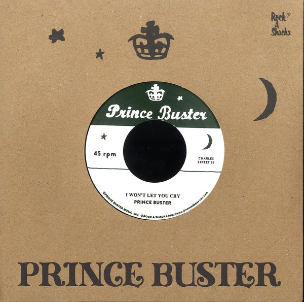 PRINCE BUSTER [I Won't Let You Cry / I'm Sorry (Unreleased)]