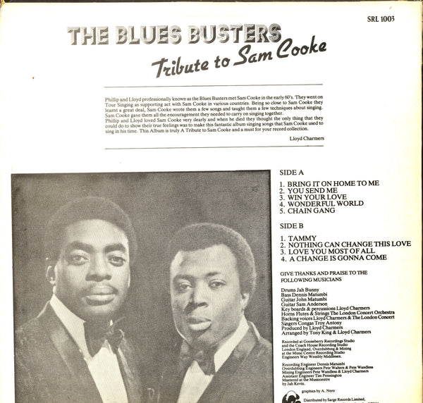 THE BLUES BUSTERS [Tribute To Sam Cooke]