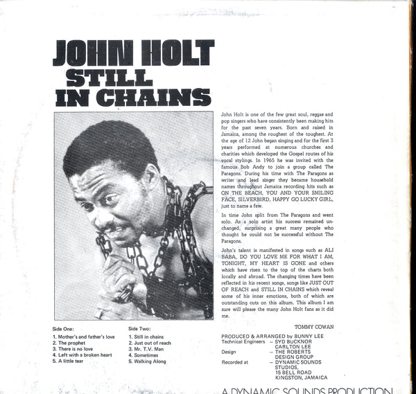 JOHN HOLT [Still In Chains]