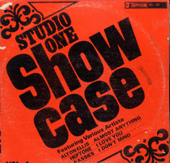 V. A. ALTON ELLIS. THE HEPTONES. THE BASSIS. EARNEST WILSON. [Studio One Show Case Vol.1]