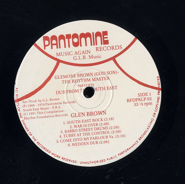 GLEN BROWN [Dub From The South East]