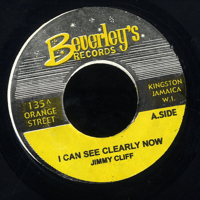JIMMY CLIFF [I Can See Cleary Now]
