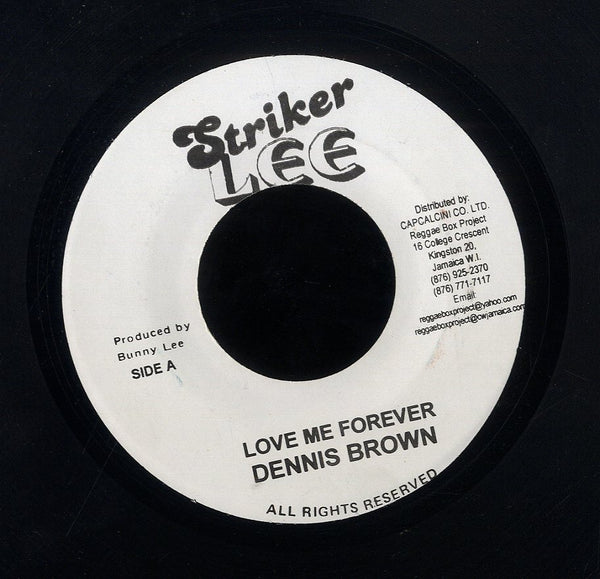 DENNIS BROWN [Love Me Forever]