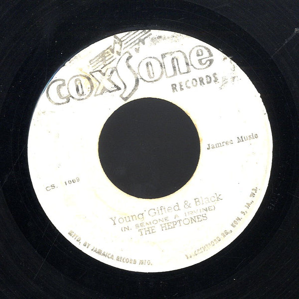 THE HEPTONES  [Young Gifted & Black / Be A Man]