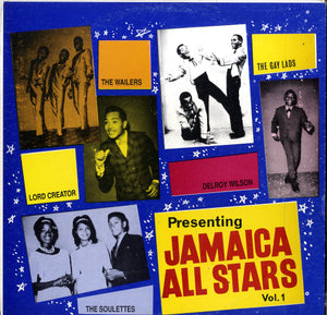 V. A. ALTON ELLIS.JERRY JONES.JOHN HOLT... [Jamaica All Stars Vol. 1]