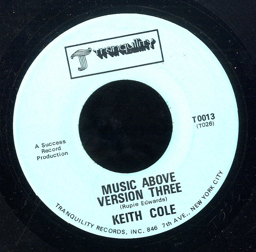KEITH COLE / RUPIE EDWARDS ALL STARS [Music Above Version Three / Behold Another Version]