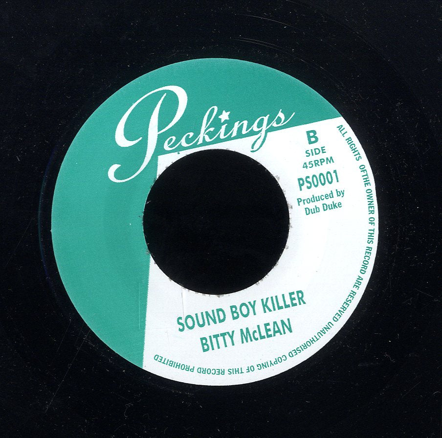 BITTY MCLEAN [Sound Boy Killer / Brother Man]