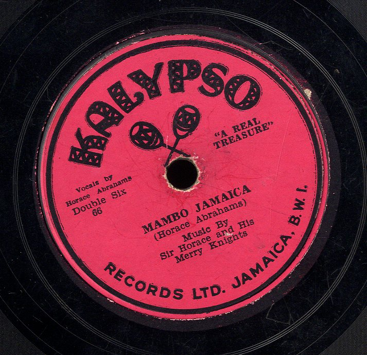 SIR HORACE & MERRY KNIGHTS [Mambo Jamaica / Morgans Mento]