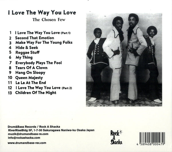 CHOSEN FEW [I Love The Way You Love] CD