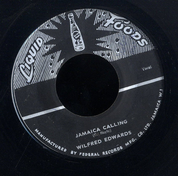 WILFRED EDWARDS [Jamaica Calling / Bright Christmas]