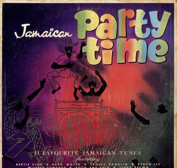EARNEST RANGLIN, BABA MOTTA, KEITH & ENID.... [Jamaican Party Time]
