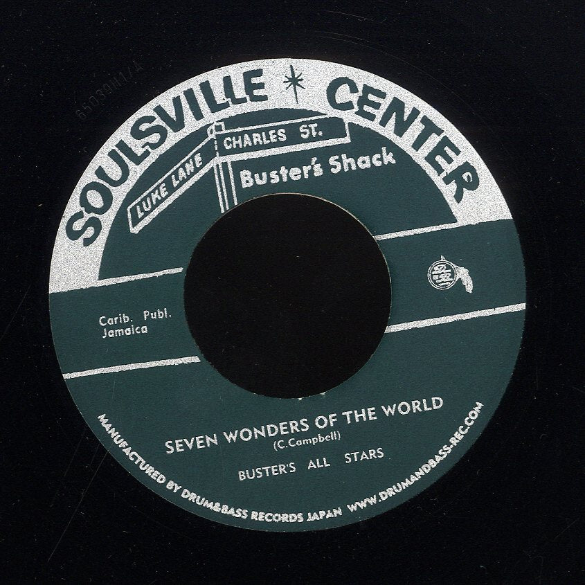 BUSTER'S ALL STARS / PRINCE BUSTER [Seven Wonders Of The World / Dancing Time]