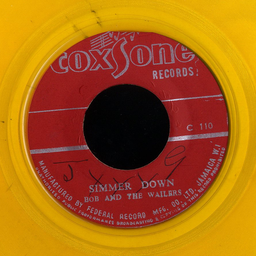 THE WAILERS [Simmer Down / I Don't Need Your Love]