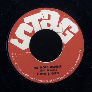 LLOYD & GLEN / LLOYD ROBINSON  [No More Trouble / Mrs Apple Pie]