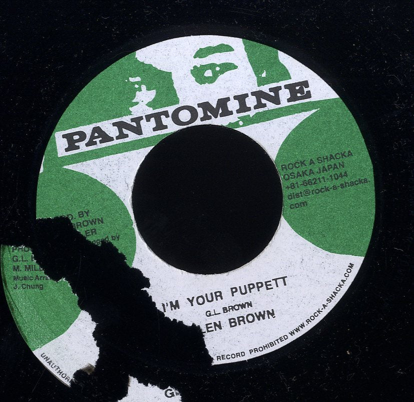 GLEN BROWN / TOMMY MCCOOK [I'm Your Puppet / Music From South Side]