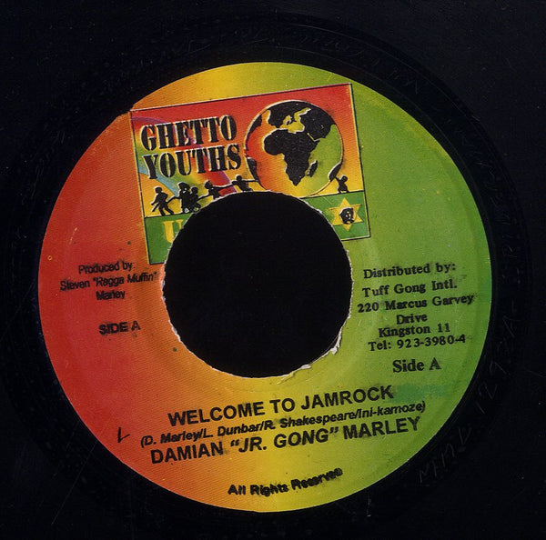 DAMIAN JR. GONG MARLEY [Welcome To Jamrock  / Hey Girl]