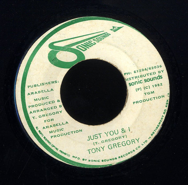 TONY GREGORY [Just You & I / It's Alright With Me]