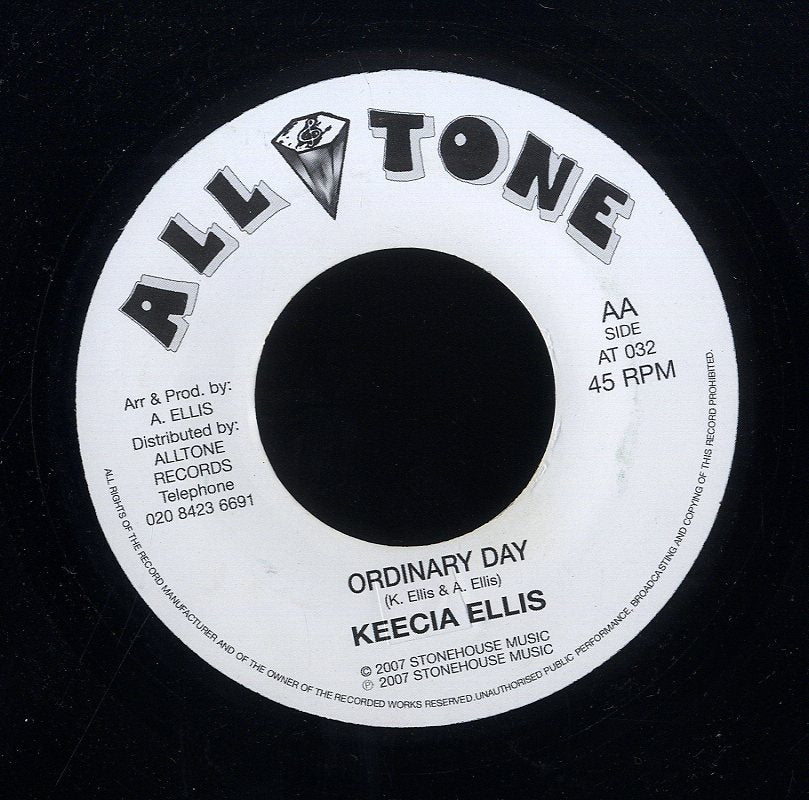 KEECIA ELLIS / TENUKE  [Ordinary Day / Mr Bass Man ]