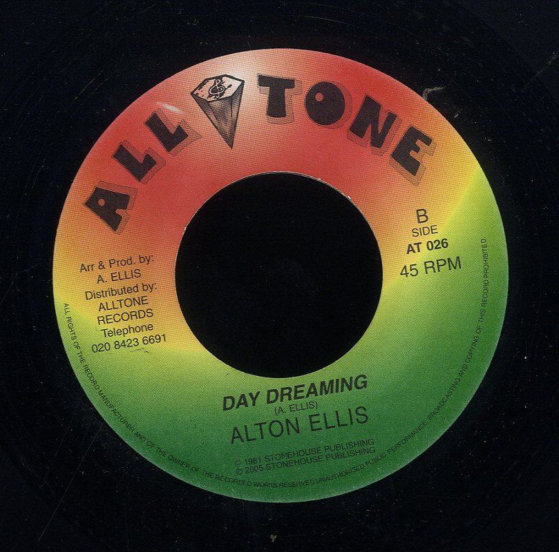 ALTON ELLIS / ALTON ELLIS & NATALIE FRESH [Day Dreaming / Better Be Carefull ]