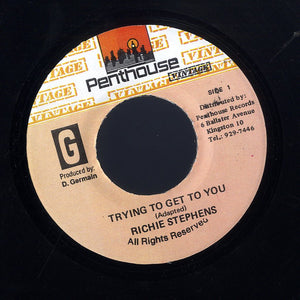 RICHIE STEPHENS [Trying To Get To You]