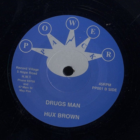 HUX BROWN / THE PROGRESSIONS  [Drugs Man / Fair Deal ]