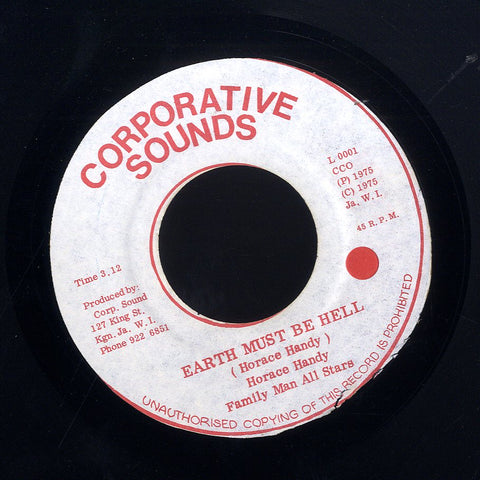 HORACE ANDY / WINSTON JARRETT & THE RIGHTEOUS FLAMES [Earth Must Be Hell / Let The Music Play]