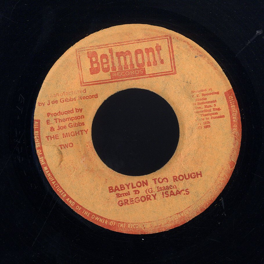 GREGORY ISAACS [Babylon Too Rough]