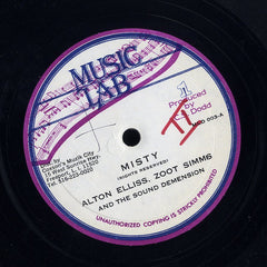 ALTON ELLIS & ZOOT ZIMMS / BARRY BROWN [Misty / Give Love]