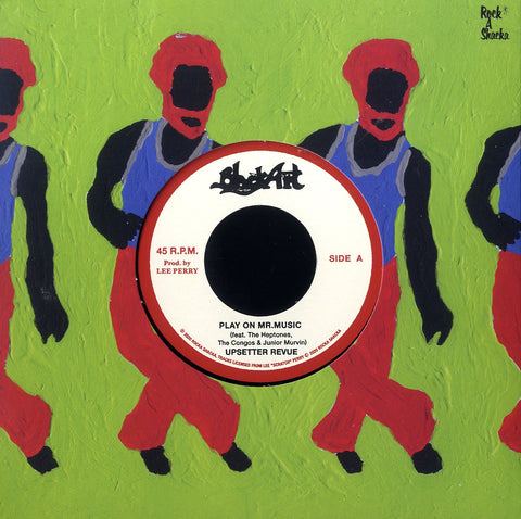 UPSETTER REVUE / THE SILVERTONES [Play On Mr. Music / Rejoice Jah Jah Children (Dub Plate Mix)]