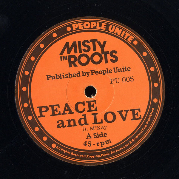 MISTY IN ROOTS [Peace And Love / Ball Out]
