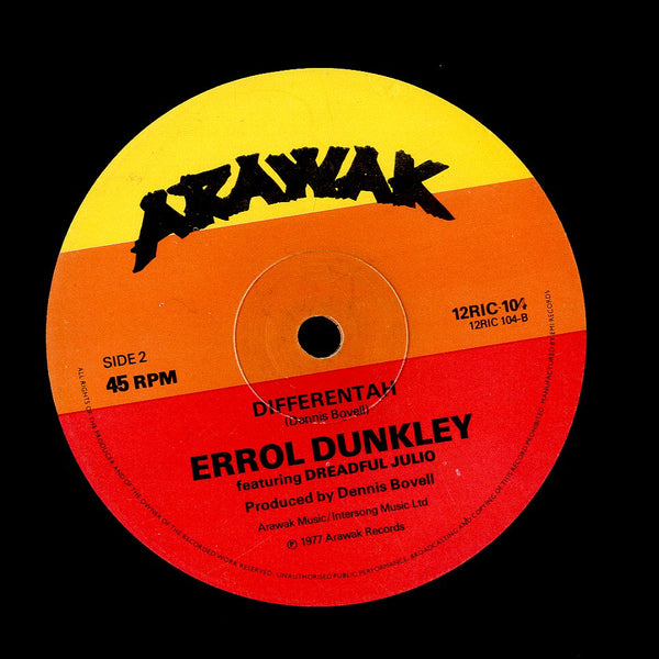 ERROL DUNKLEY / DREADFUL JULIO [A Little Way Different]