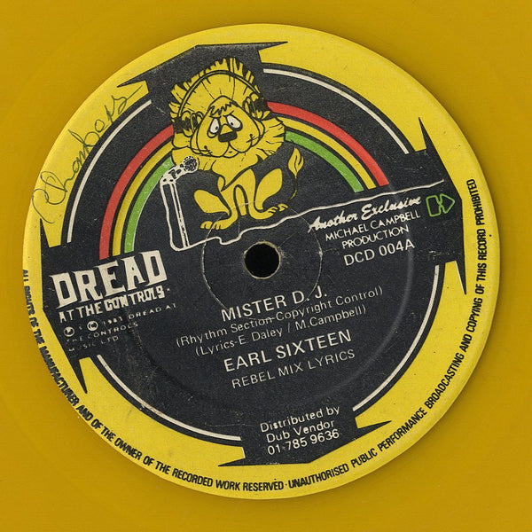 EARL SIXTEEN / GILLY BUCHANNAN [Mister Dj / Ghetto Youth]