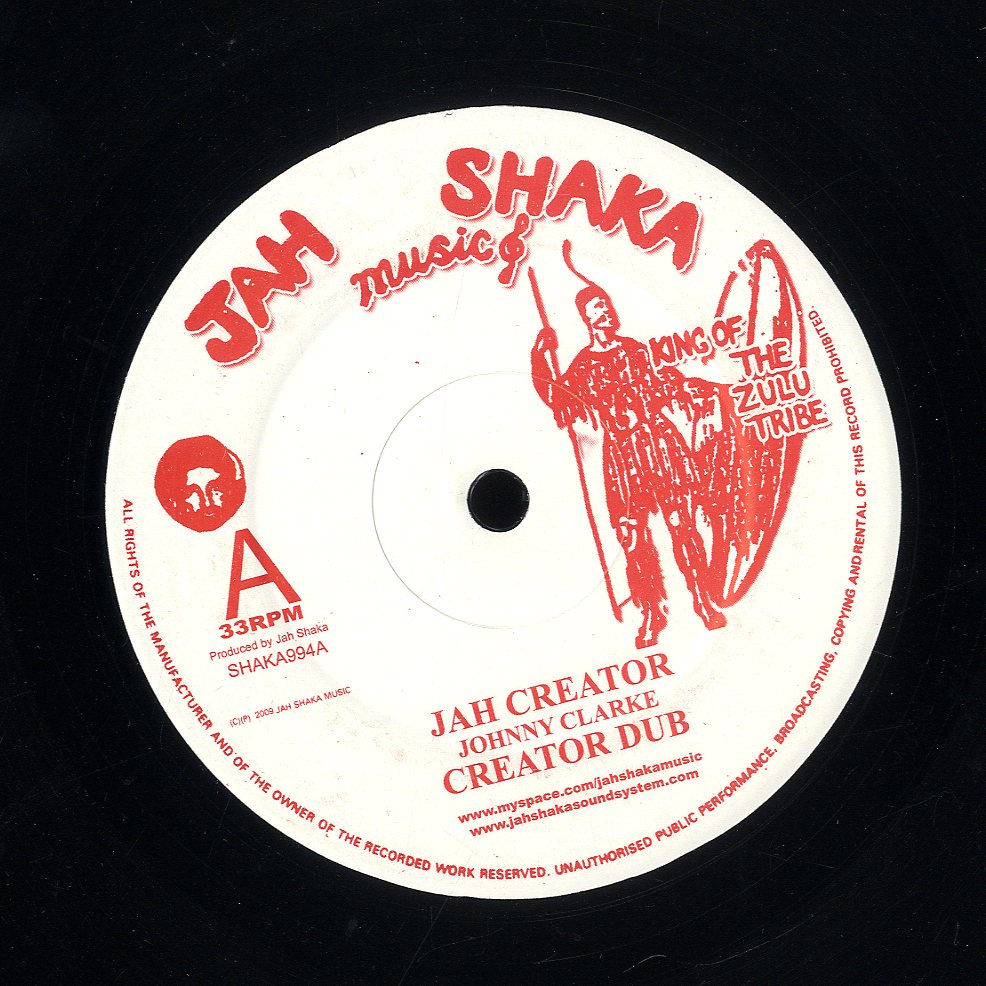 JOHNNY CLARKE [Jah Creator / Blood Dunza]